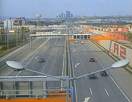 A02 Süd Autobahn Blickrichtung Wien Km 4,30 Webcam Live