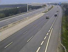A02 Süd Autobahn Blickrichtung Graz Km 45,43 Webcam Live
