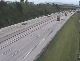 A02 Süd Autobahn Blickrichtung Graz Km 50,20 webcam Live