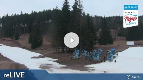 Abertamy – Plešivec webcam Live