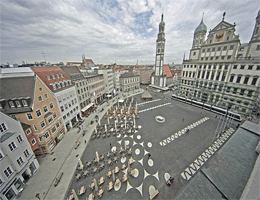 Augsburg – Rathausplatz Webcam Live
