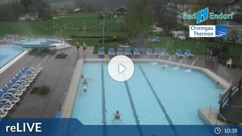 Bad Endorf – Chiemgau Thermen webcam Live