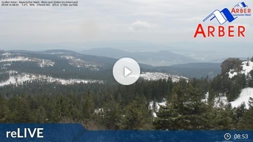Bayerisch Eisenstein – Arber Gipfel Webcam Live