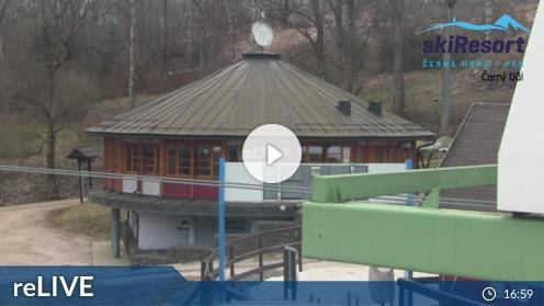 Cerny Dul – Landschaftsblick webcam Live