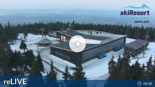 Janské Lázně – Černá hora webcam Live