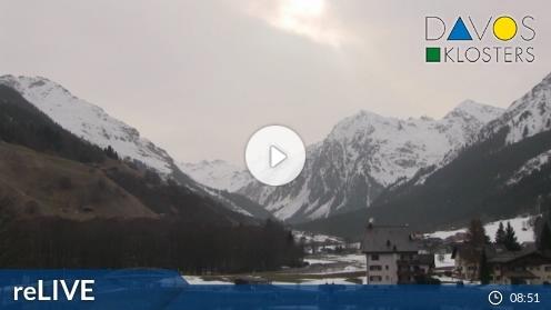 Klosters-Serneus – Sportzentrum Klosters webcam Live