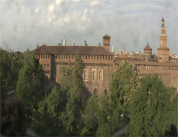Mailand – Castello Sforzesco Webcam Live