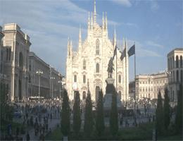 Mailand – Piazza del Duomo Webcam Live
