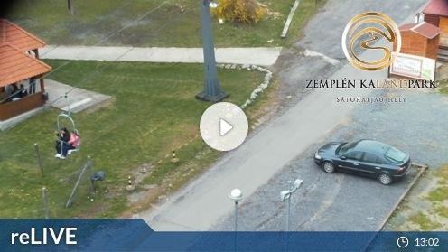 Sátoraljaújhely – Zemplén Kálandpark-Tal Webcam Live