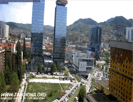 Sarajevo Panorama Webcam Live