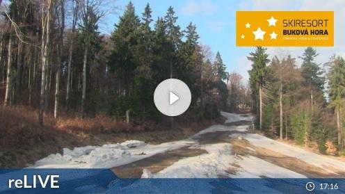 Skigebiet Červená Voda webcam Live