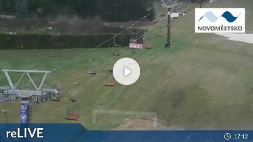 Skigebiet Nové Město na Moravě webcam Live