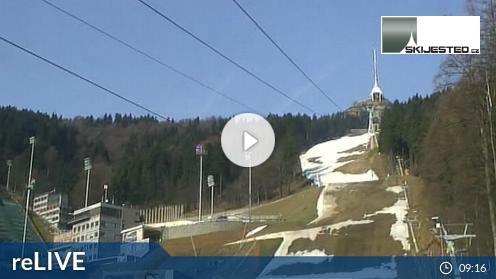 Světlá pod Ještědem – Landschaftsblick webcam Live
