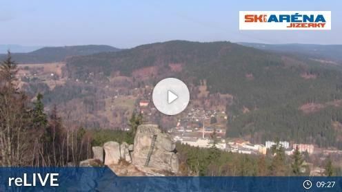 Tanvald – Tanvaldský Špičák 2 webcam Live