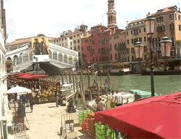 Venedig Rialtobrücke Webcam Live