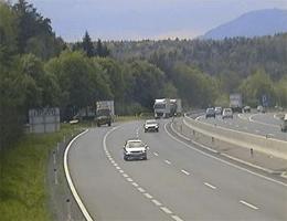 A02 Süd Autobahn Blickrichtung Graz Km 112,60 Webcam Live