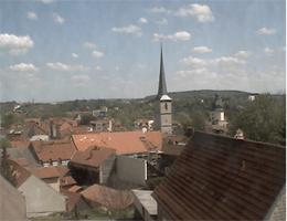 Arnstadt – Blick über Arnstadt Webcam Live