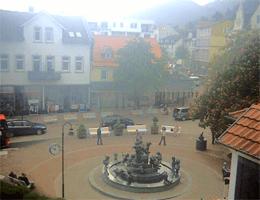 Bad Harzburg Stadtmitte Jungbrunnen Webcam Live