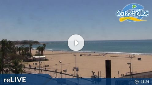 Cambrils Hafen Webcam Live