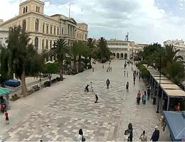Ermoupoli (Syros) – Miaoulis Square Webcam Live
