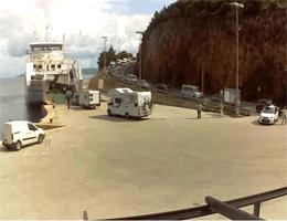 Insel Cres – Fährhafen Merag Richtung Krk Webcam Live