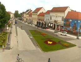 Koprivnica – Zrinski Trg Webcam Live