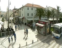 Novalja (Pag) – Loža Platz Webcam Live