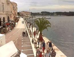 Poreč – Uferpromenade Webcam Live