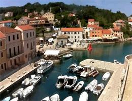 Veli Lošinj – Hafen und Bucht Webcam Live