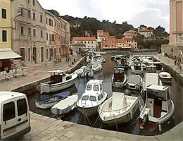 Veli Lošinj Hafen Webcam Live