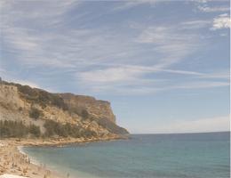 Cassis – Plage de la Grande Mer Webcam Live