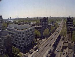 Düsseldorf Theodor Heuss Brücke Webcam Live