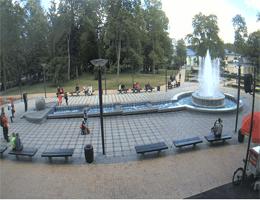 Druskininkai – Musical Fountain Webcam Live