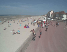 Fort-Mahon-Plage – Strandblick Webcam Live