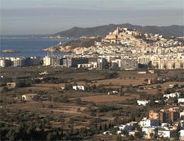 Ibiza Stadt Panorama Webcam Live