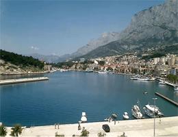 Makarska – Seepromenade Webcam Live