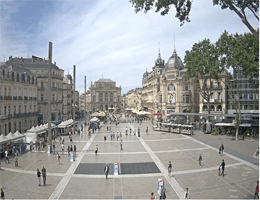 Montpellier – Place de la Comédie Webcam Live
