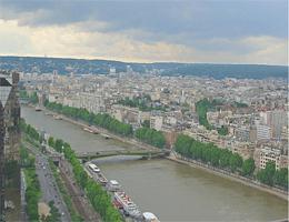 Paris – Boulogne und Die Seine Webcam Live