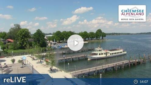 Prien am Chiemsee – Chiemsee-Schifffahrt Webcam Live