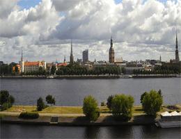 Riga 11.Novembra krastmala Webcam Live