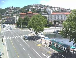 Rijeka Trsat und Sušak Webcam Live