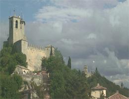 San Marino Guaita Fortress Webcam Live