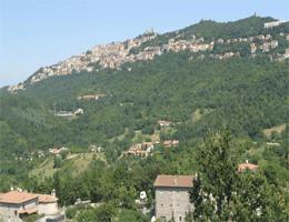 San Marino Stadtpanorama Webcam Live