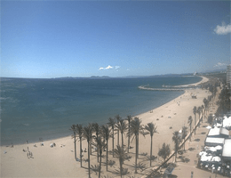 Roses – Strand Santa Margarida Webcam Live
