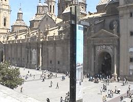 Saragossa – Plaza del Pilar Webcam Live