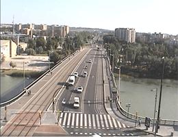 Saragossa Puente de Santiago Webcam Live