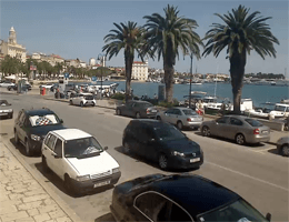 Split – Seaside Promenade Webcam Live