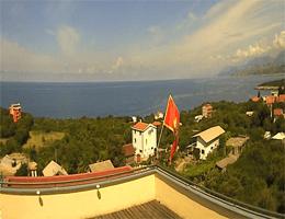 Utjeha – Blick über die Bucht Webcam Live
