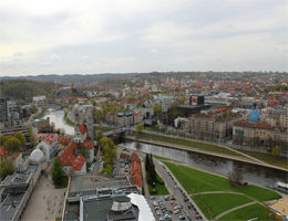 Vilnius – Panoramablick Webcam Live