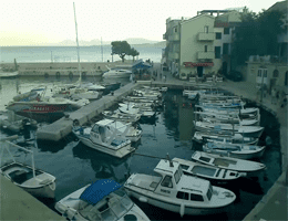 Igrane – Hafen Webcam Live
